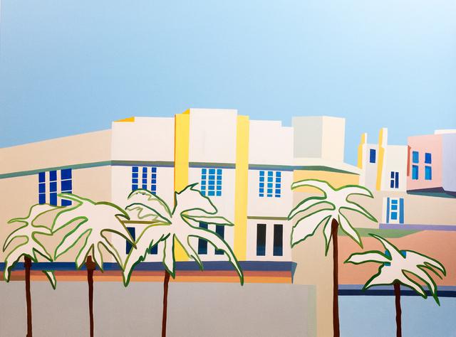 , 'Miami Streetview #1,' 2017, Galerie Ernst Hilger
