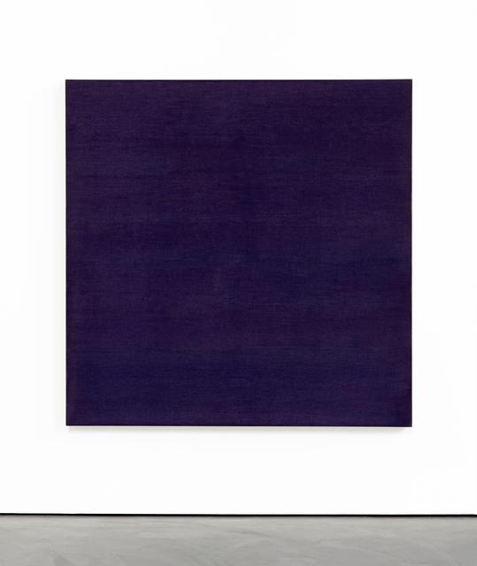 , 'Blue/Violet Sea Painting,' 2017, Brian Gross Fine Art