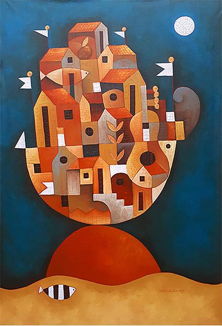 Sergio Ramos, 'A pequena Ilha   |   The Little Island ', 2000, Galeria Canoa
