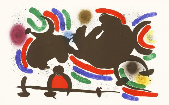Joan Miró, 'From Lithographies', 1972, Sworders