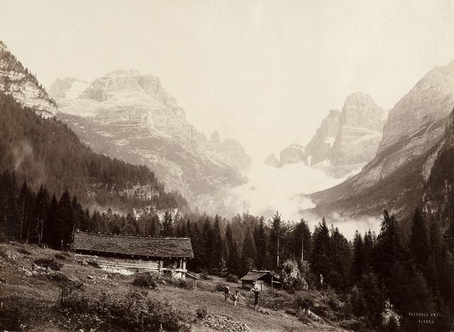 Vittorio Sella, 'Gruppo del Brenta', 1890 ca., Photography, Vintage gelatin silver print., Il Ponte