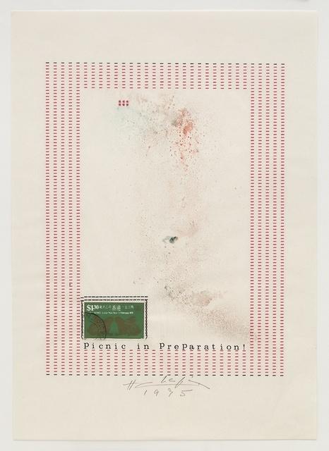 , 'Picnic in Preparation!,' 1975, Richard Saltoun