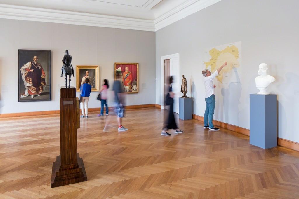 Exhibition View Franz Joseph, 2016 © Belvedere, Vienna