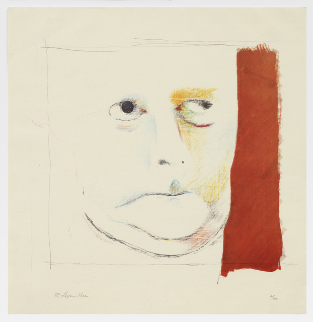 Richard Hamilton, 'Hugh Gaitskell as a Famous Monster of Filmland (1963)', 1982, Print, Collotype, screenprint and hand painting in screen ink on Deutsch-Japanpapier, Cristea Roberts Gallery