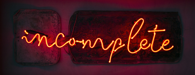 , 'Incomplete,' 2018, Anna Laudel