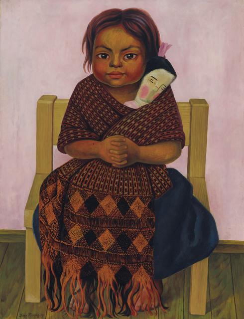 Diego Rivera, 'Niña con muñeca de trapo', 1939, Christie's