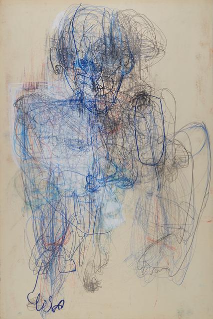 , 'Homme Bleu,' 2018, Cavin-Morris Gallery