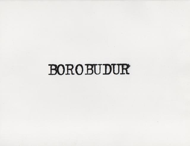 , 'Ginzburg à Borobudur, Indonésie,' 1979, Henrique Faria Fine Art