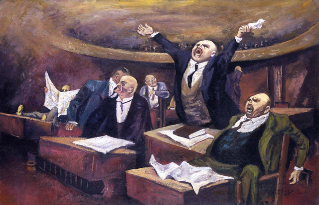 , 'The Senate,' c.1940, Michael Rosenfeld Gallery