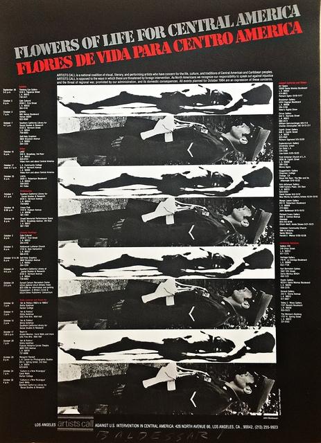 , 'Flores de Vida por Centro America (Hand Signed),' 1984, Alpha 137 Gallery
