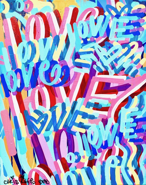 , 'Love Canvas 9,' 2018, Open Mind Art Space
