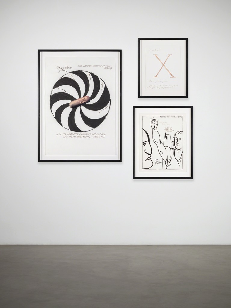 Raymond Pettibon installation: