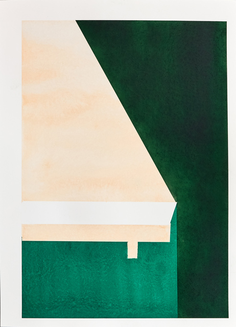 , 'Temple I,' 2017, Galerie Laurence Bernard