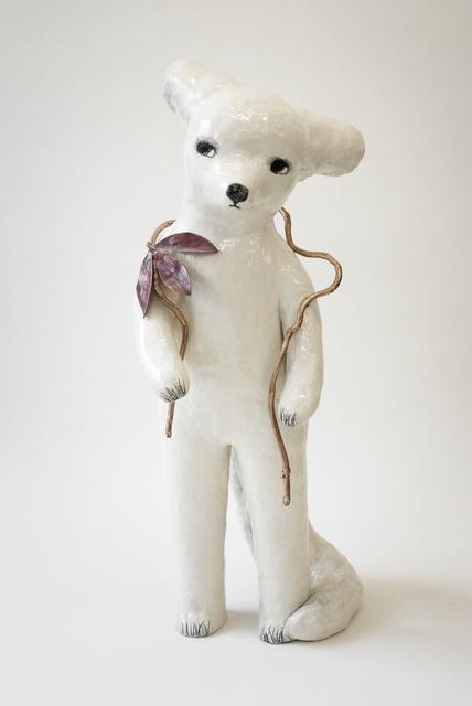 , 'Fox in my garden,' 2019, Antonine Catzéflis