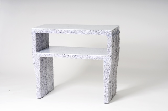 Jens Praet, 'Side Table', 2011, Design/Decorative Art, Shredded documents and binding agent