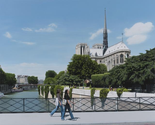 Christian Marsh, 'Notre Dame, Paris', Plus One Gallery