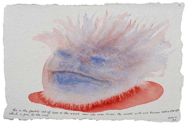 , 'Stories in Colour #83,' 2016-2017, Dvir Gallery