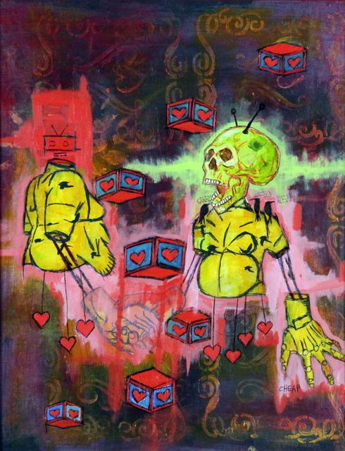 , 'Study Number Nine,' 2017, Bitfactory Gallery