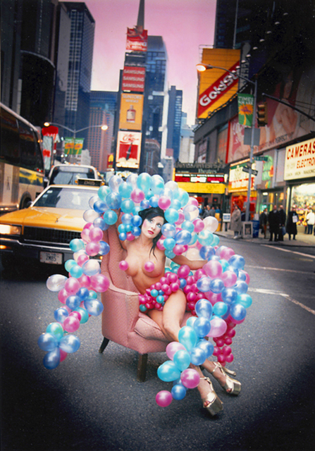 David LaChapelle, 'Porn Star in Times Square, New York', 1993, Photography, C-Print, Staley-Wise Gallery