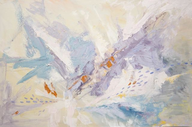 Aleona Isakova, 'Lavander explosion ', 2018, Recreational Enterprises & Perseus Gallery