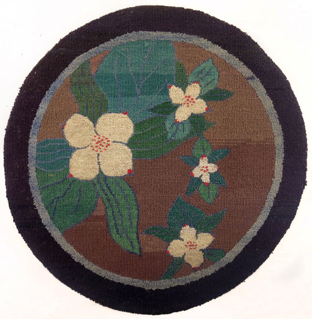 , 'Round Crackerberry Mat,' ca. 1935, Edward Thorp Gallery