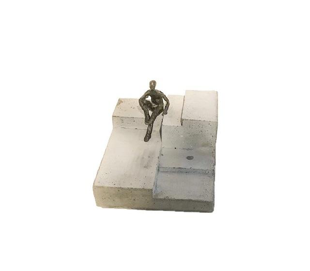 , 'Resting on concrete block,' 2018, Anquins Galeria