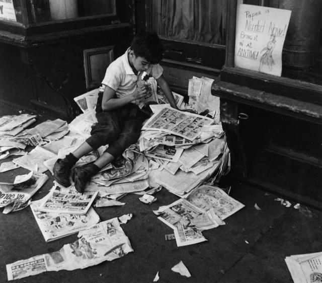 , 'New York (Boy with Ice Cream), Oct. 12, 1944,' ca. 1965, Robert Mann Gallery