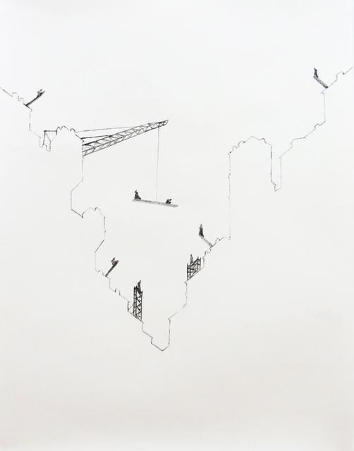 , 'Stylites Urbains #1,' 2014, Caroline Pagès Gallery