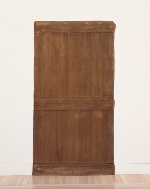 , 'Robert Overby,  Back of Garage Door,' 1972, Hammer Museum