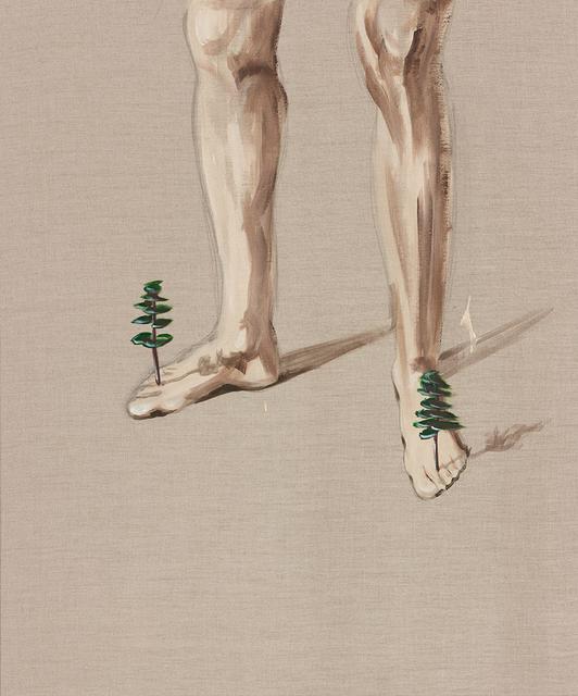 , 'Gelehrtenbeine -  In Balance with trees,' 2013, Artdepot