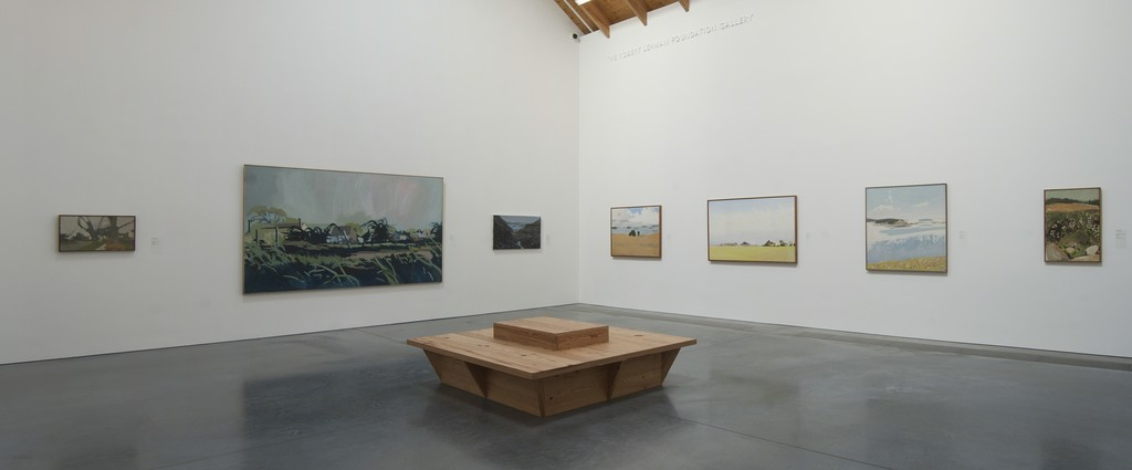 "Installation view of the permanent collection gallery ""Painting Horizons."" Parrish Art Museum, Water Mill, NY."