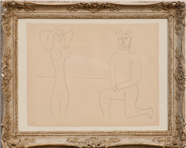 , 'Mes Dessins d'Antibes - Femme et Faune,' 1958, Tanya Baxter Contemporary
