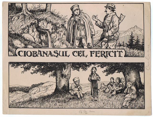 , 'Ciobanasul cel fericit,' 1922-1927, Nasui Collection & Gallery