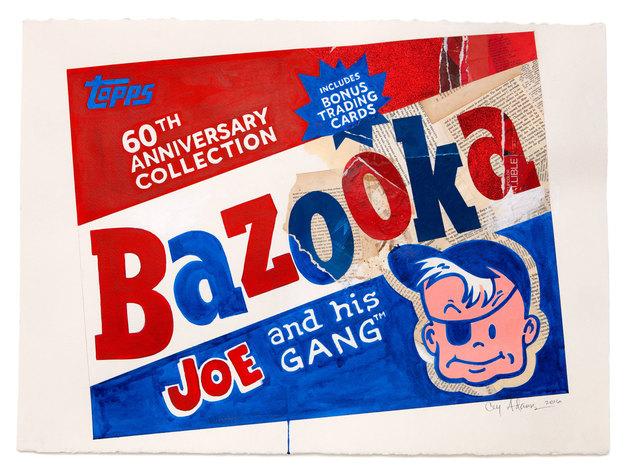, 'BAZOOKA,' 2016, Gary Lichtenstein Editions
