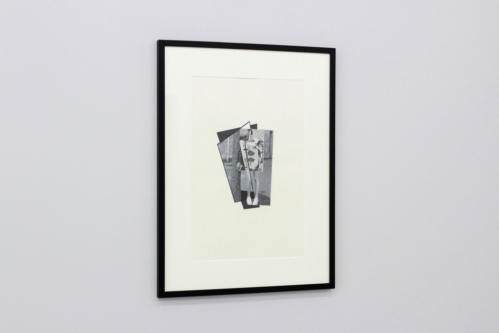 Bodypolitics V (Kiste), 201, Collage, Marker, 60 x 40 cm (82 x 63 cm framed)