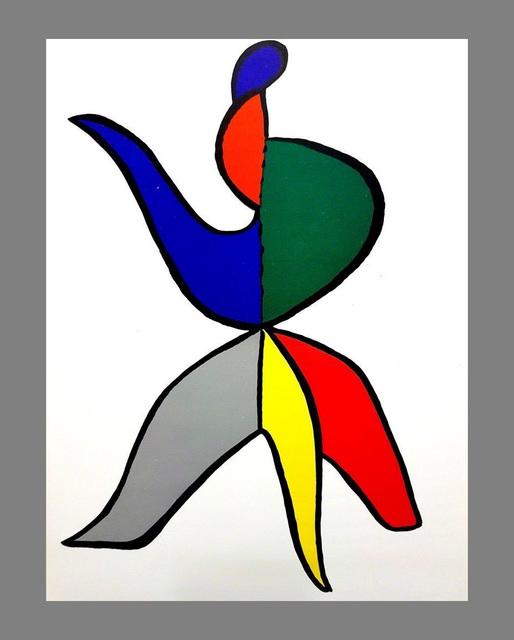 Alexander Calder, 'Alexander Calder Stabiles lithograph', 1963, Lot 180