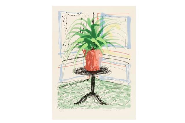 David Hockney, 'Untitled No.468, from A Bigger Book: Art Edition C', 2010, Hidden