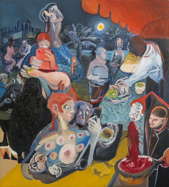 , 'Ex-Sacrifice + Ramadan Palm,' 2009-2015, Gallery Isabelle van den Eynde