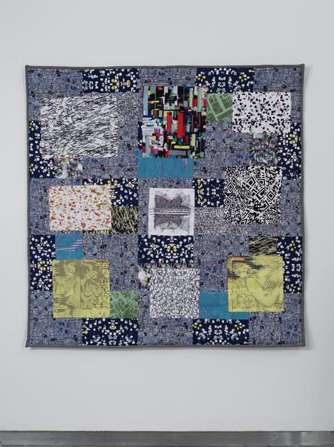 , 'Nayland Split Squares,' 2014, bitforms gallery