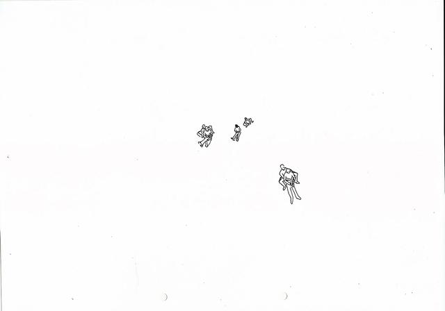 , 'Kleine Skizze für grosse Aktionen ,' 2013-2015, Josedelafuente