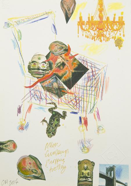 , 'Allen Ginsberg's Shopping Trolley,' 2014, Ronald Feldman Fine Arts