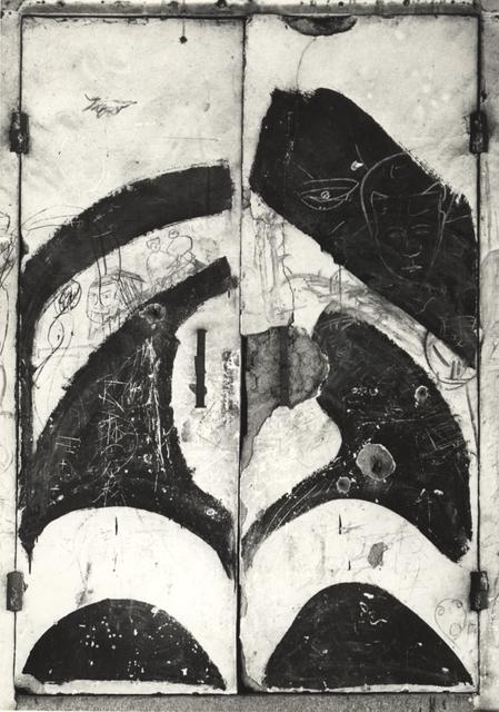 , ' Untitled (Door),' ca. 1950, Kicken Berlin