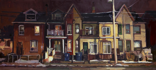 , 'Five Houses on Broadview,' 2019, Abbozzo Gallery