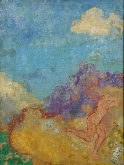 Odilon Redon, 'La fuite', 1910, Painting, Oil on canvas, Henze & Ketterer & Triebold