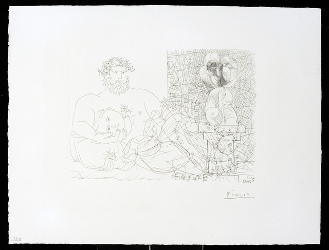 Pablo Picasso, 'Vollard Suite – Sculptor and Model', 1933, Print, Etching, Vanessa Villegas Art Advisory