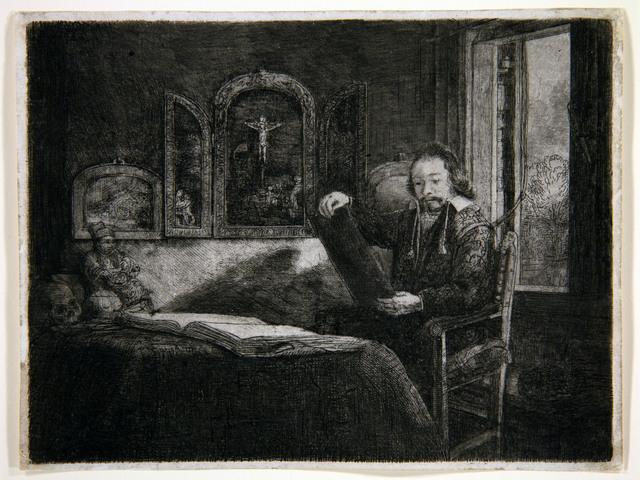 Rembrandt van Rijn, 'Portrait of Abraham Francken, Apothecary ', 1657, Centre for Fine Arts (BOZAR)