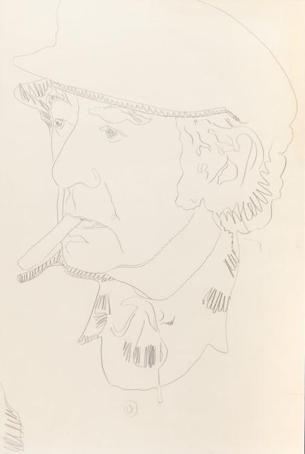 Andy Warhol, 'Man Ray', 1974, Aste Boetto
