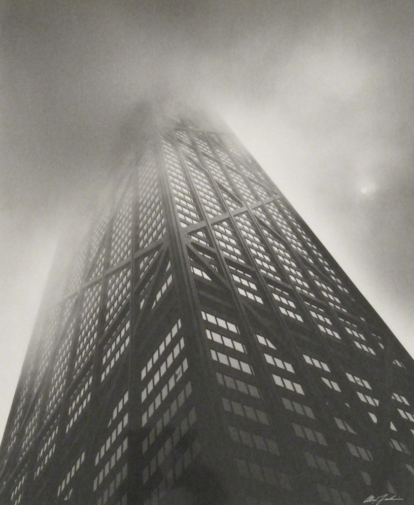 """Hancock Building"" by Alex Fradkin"