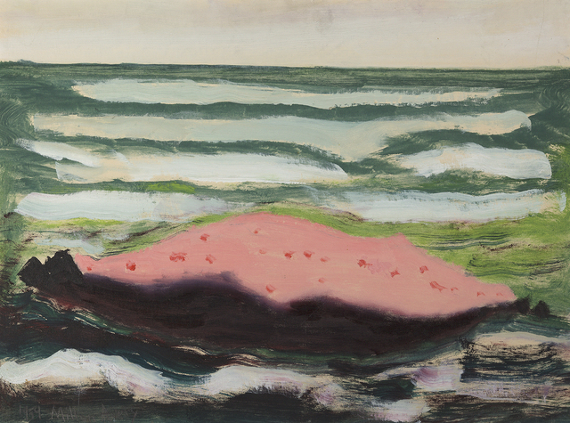 , 'Pink Island, White Waves,' 1959, Debra Force Fine Art