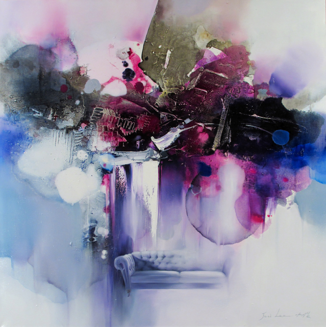 Hyun Jou Lee, 'Dream Path III', 2020, Painting, Mixed media on canvas, Thompson Landry Gallery